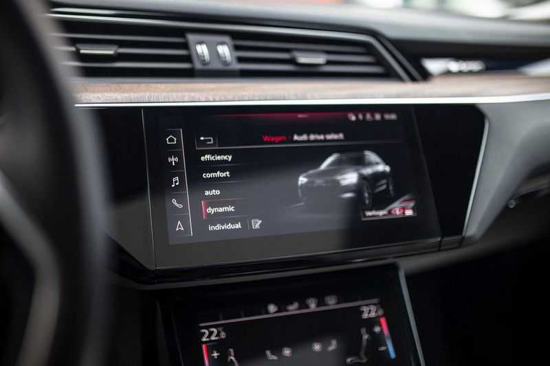 "Audi e-tron 55 Quattro *4% Bijtelling / Massage / HUD / Pano / 21"" / Hulppakket Stad & Tour* afbeelding 12"