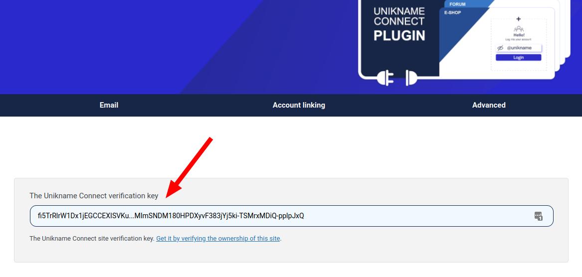 Unikname Connect trust certificate example