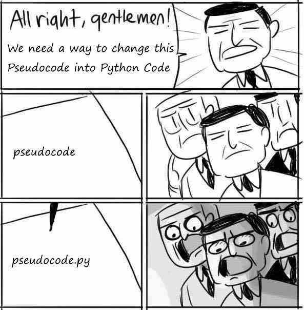 Python is pseudocode
