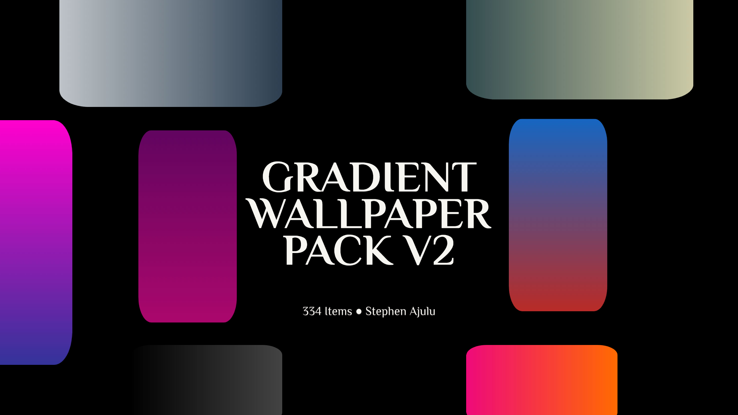 Gradient Wallpaper Pack Version 2 is Out