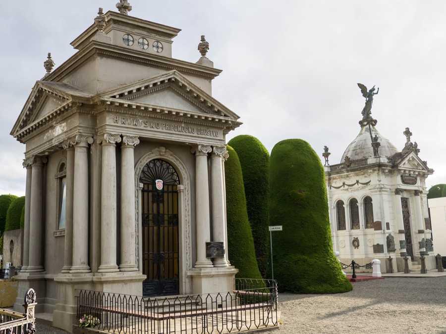 Cemetery in Punta Arenas