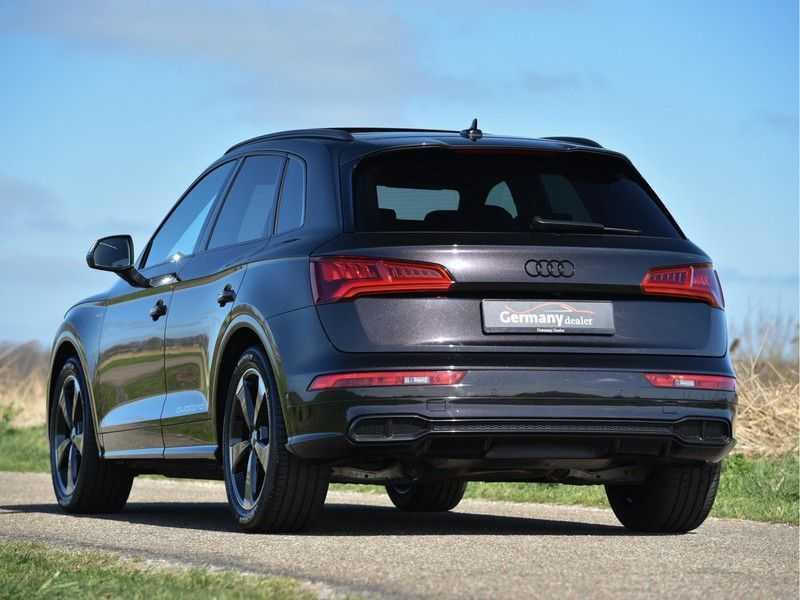 Audi SQ5 3.0TFSI 354pk Quattro Black Optic Alle Opties! Individual Lucht Tr.Haak Standk Ruitleder 360Cam afbeelding 11