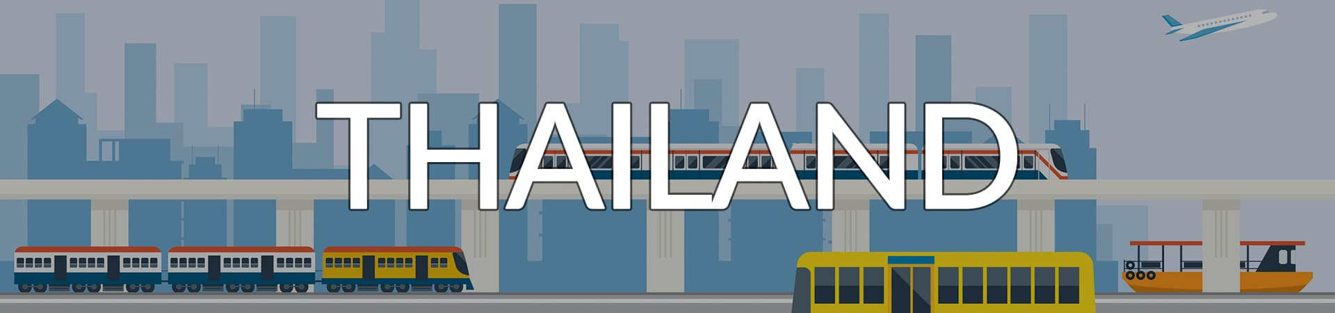 Transportation Thailand banner