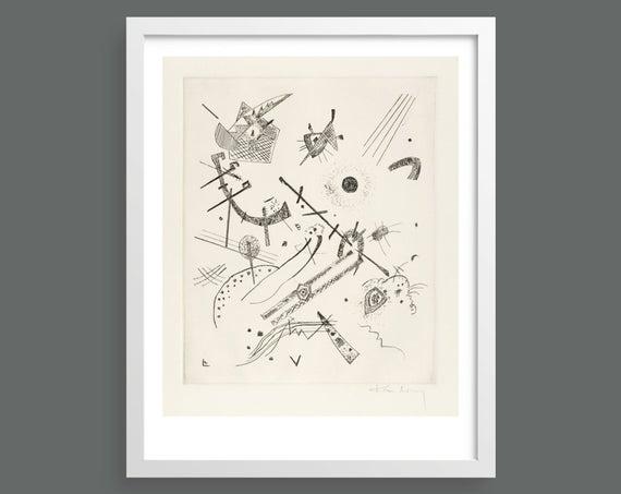 Small Worlds XI (Kleine Welten XI) by Vasily Kandinsky