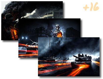 Battlefield 3 theme pack