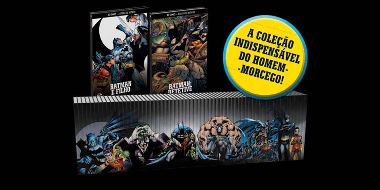 Imagem da nova coleção A Lenda do Batman da editora Planeta DeAgostini