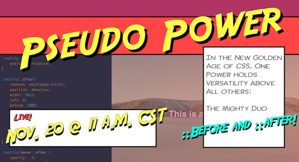 Pseudo Power promo image