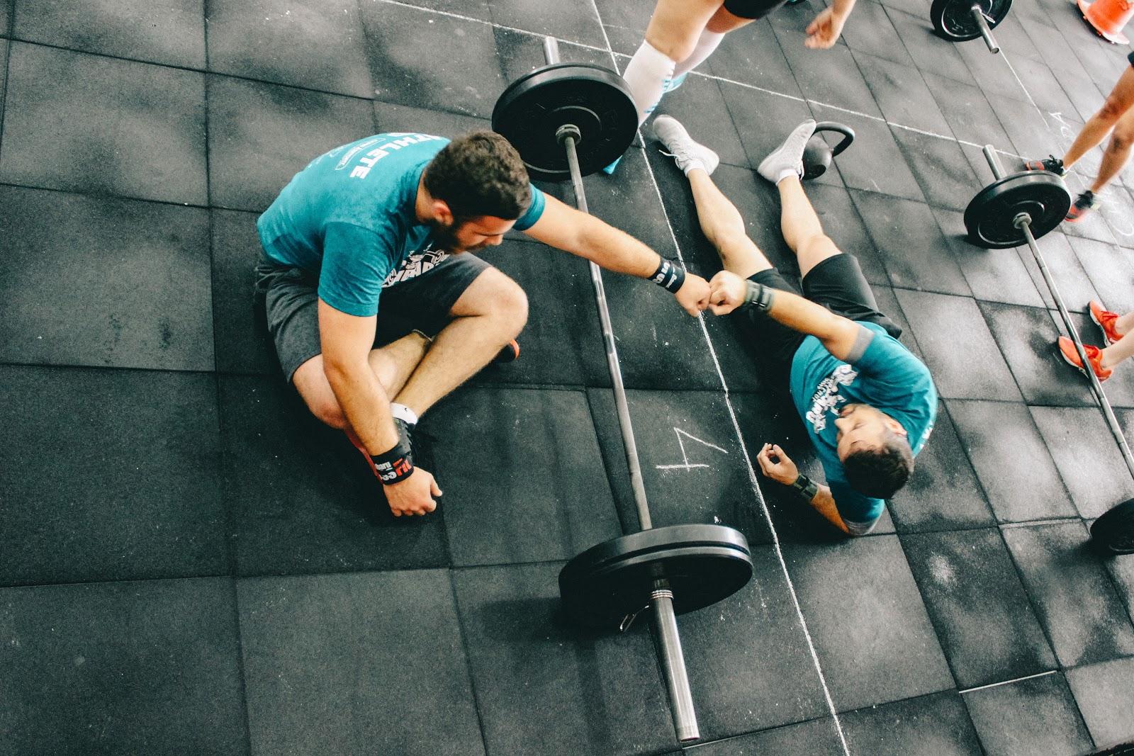 Exercices à la salle de sport
