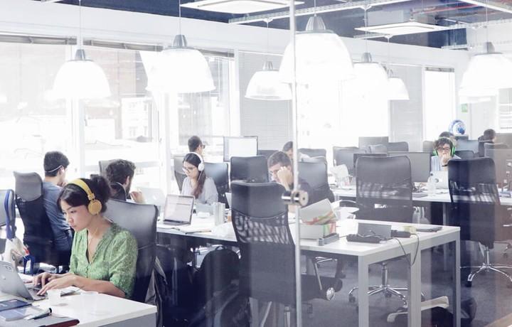 Espaço de trabalho da Cobli