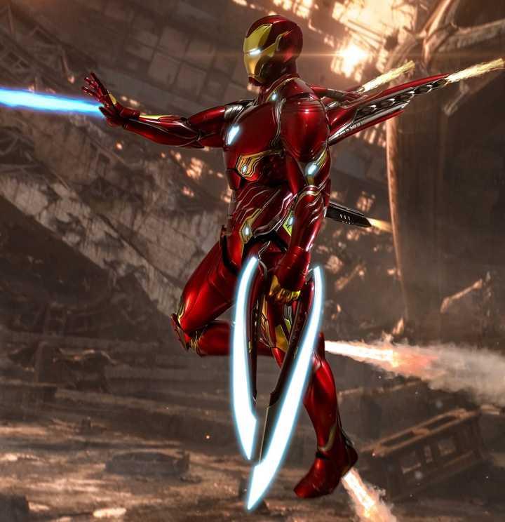 Hot Toys Iron Man Mark 50 Gallery