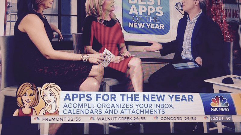 Acompli on NBC News