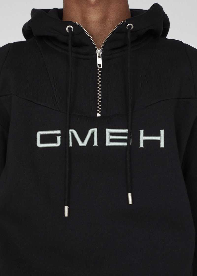 DASH GMBH AW19 HOODIE BLACK CHEST