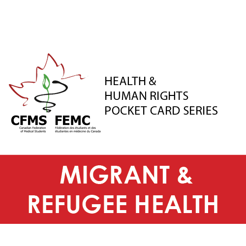 Download refugee health pocket card