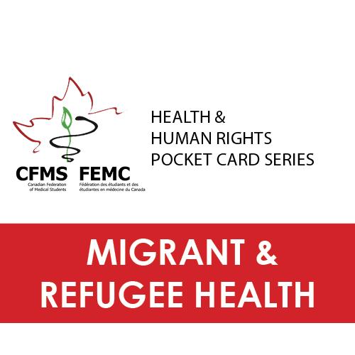 Download refugee health pocket card