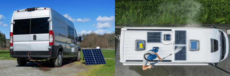 Renogy Solar Panel Van Kits vs. Go Power vs. Zamp Solar Image