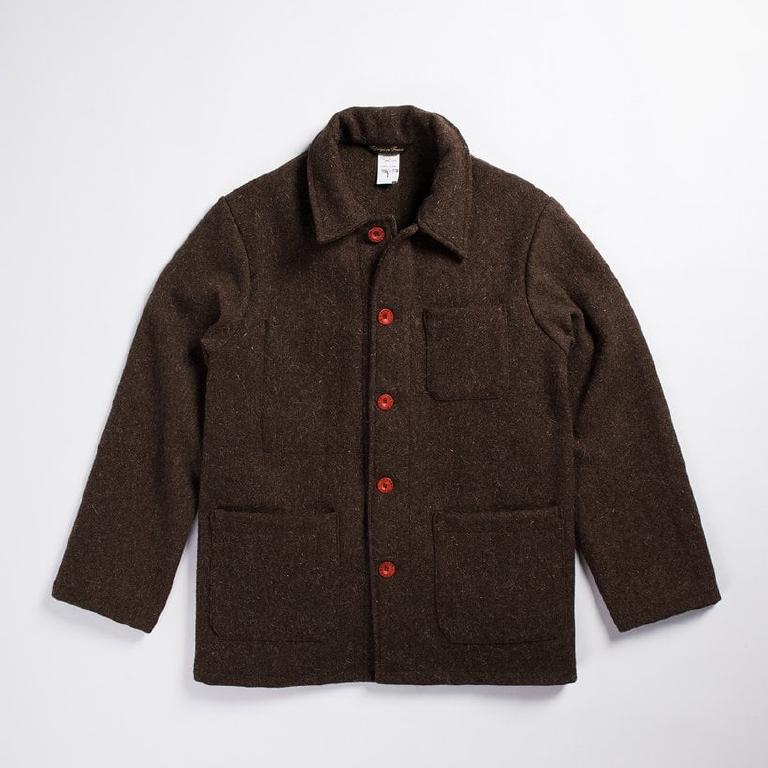 French wool farmer jacket