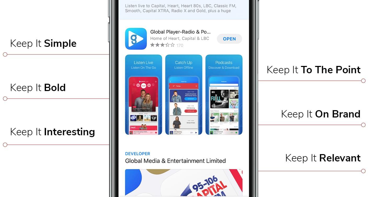 Screenshot Design Tips