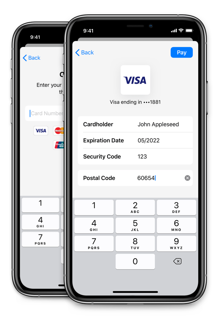 PayPal Drop-In Card Form