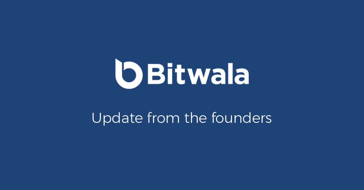 an update from ben, jan, and joerg founders of bitwala