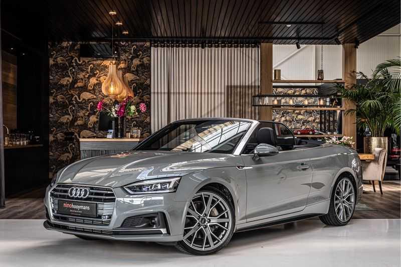 Audi A5 Cabriolet 45 TFSI Sport | S Line | Tour | Sportstoelen | Matrix Led afbeelding 4