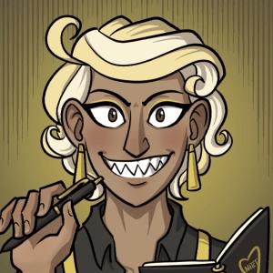 Janus grins maliciously.