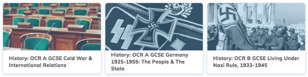 History Revision GCSE OCR A Course