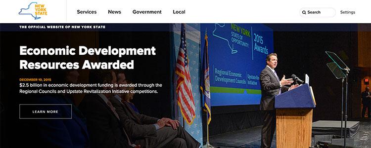 NY.gov redesign.