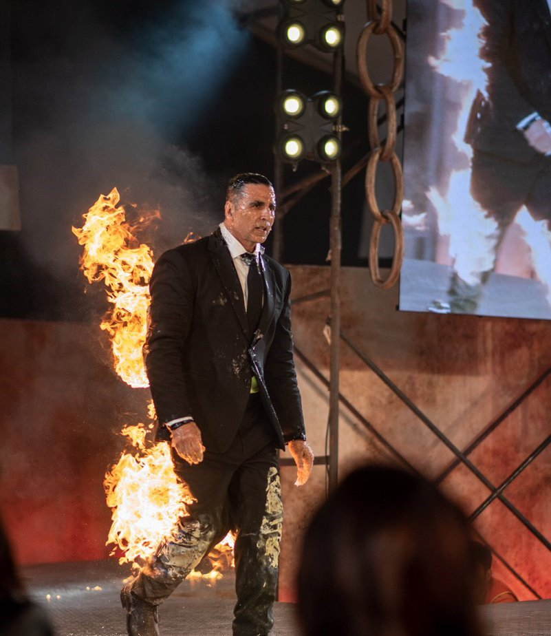 Akshay Kumar burning for Amazon Prime The End