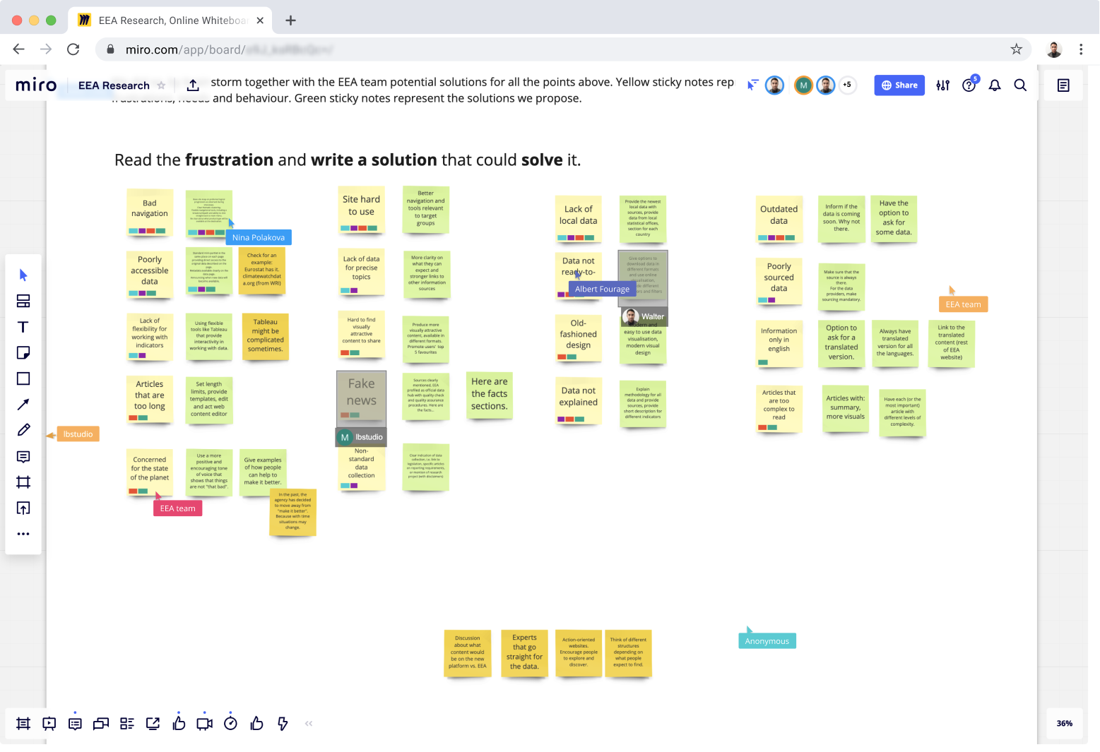 Brainstorming a priorizácia počas virtuálneho workshopu