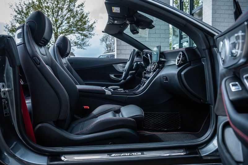 Mercedes-Benz C-Klasse Cabrio 43 AMG 4MATIC, 367 PK, Distronic Plus, Comfort/Pakket, Head/Up, LED, Airscarf, Sport/Uitlaat, 30DKM! afbeelding 11