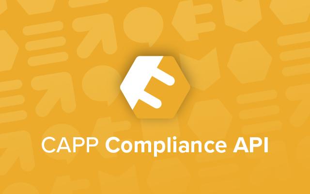Compliance API Productsheet