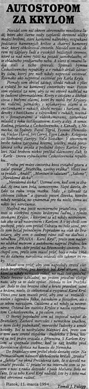 Autostopom za Krylom, Domino efekt, č. 11, 19940318, str. 9