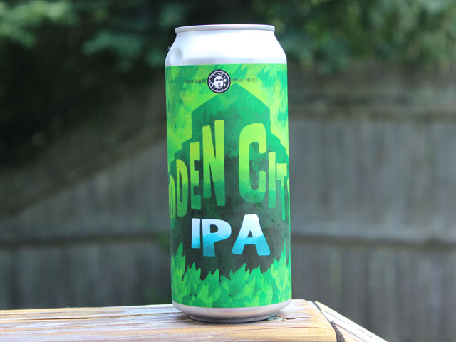 Hidden City, an IPA brewed by Medusa Brewing Company