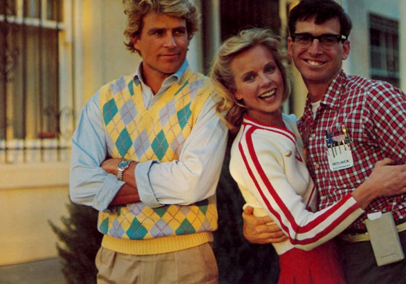 Photo of the cast from Revenge of the Nerds (1984)