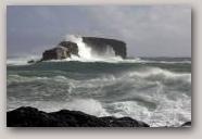 Dore-Holm, Eshaness. Copyright Promote Shetland  » Click to zoom ->