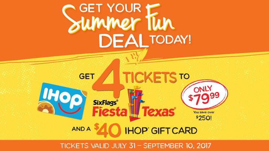 IHOP Summer Fun Deal