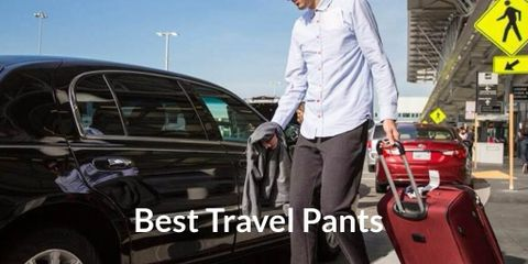 You need to have a pair of travel pants. With this one, standing, walking, and sitting will be much easier and more comfortable