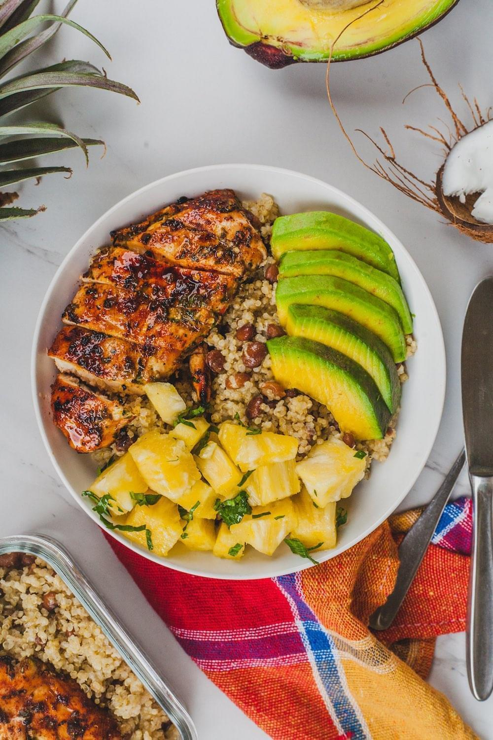Caribbean Protein Bowl