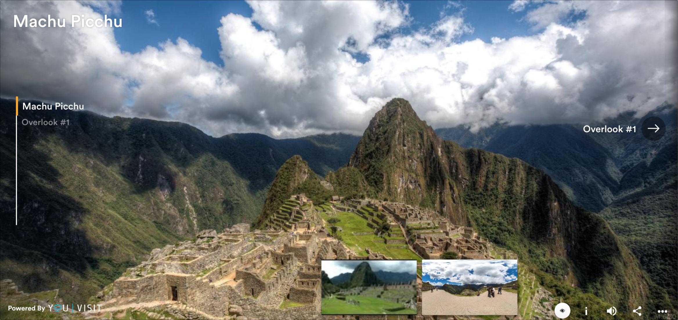 Machu Picchu screengrab