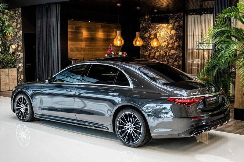 Mercedes-Benz S-Klasse 400d 4Matic Lang AMG | 3D Display | Augmented Head-Up Display | Burmester 3D | Pano | Memory afbeelding 5