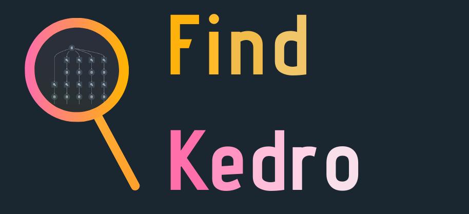 Find Kedro Title