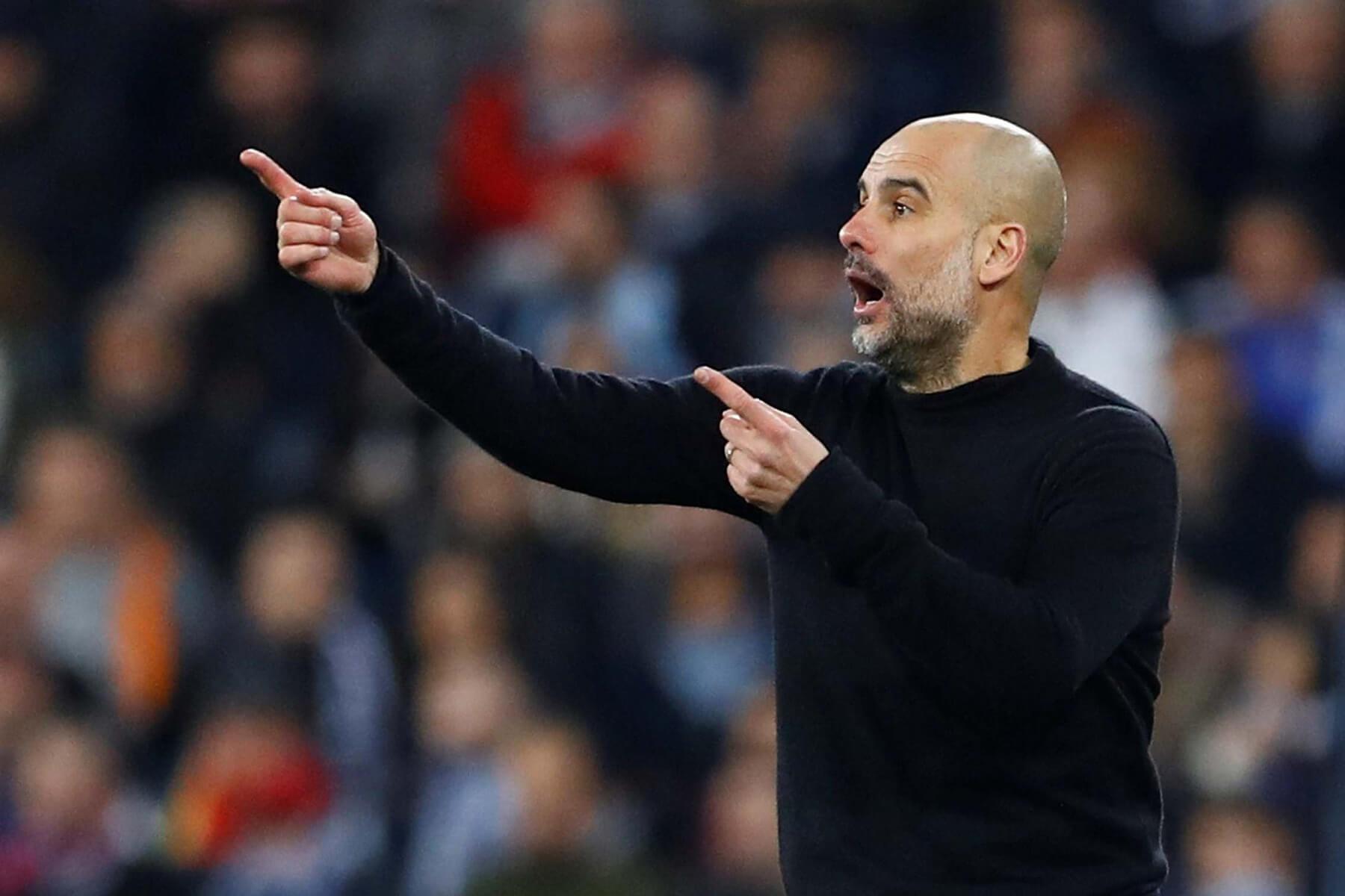 Тренер «Манчестер Сити» Пеп Гвардиола. Фото: Reuters