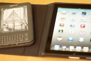 iPad and Kindle
