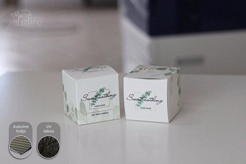Kartoninės dėžutės pavyzdžiai