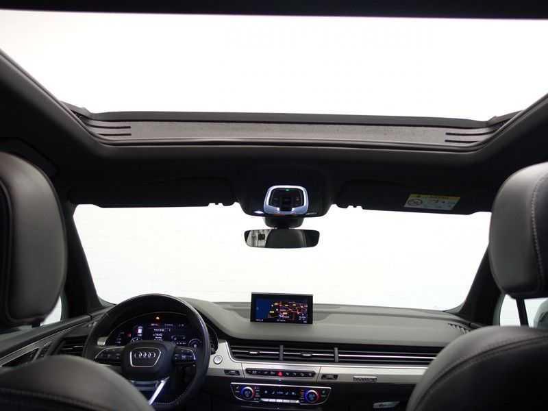 Audi Q7 3.0 TDI e-tron 374pk Quattro Sport S-line- Pano, Bose, Virtual Cockpit, Leer,  Full! afbeelding 5