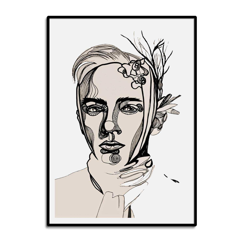 'Shivering' Giclée Art Print