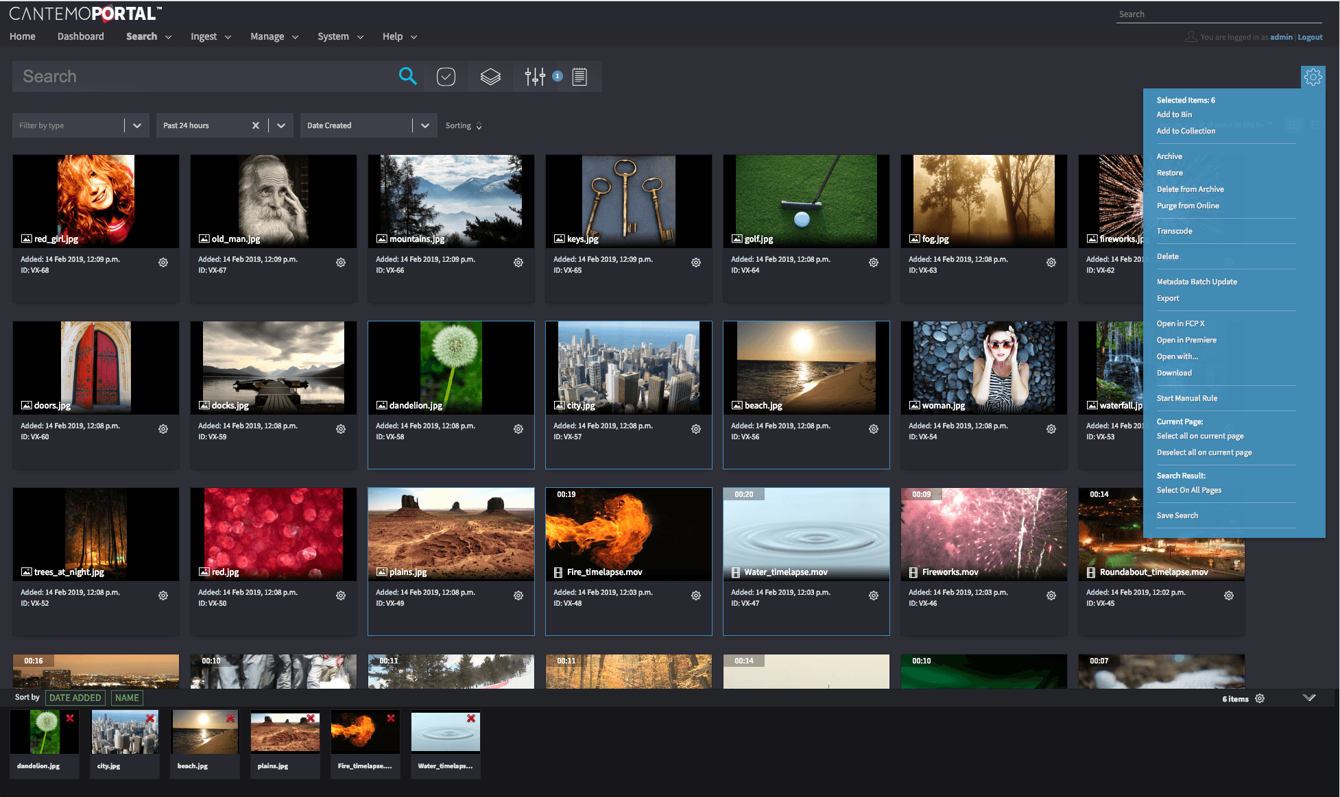 Portal 4 user interface