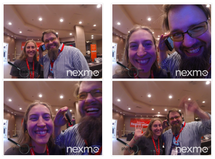 Building a Phone-Powered Photo Booth with Nexmo's Voice and SMS APIs