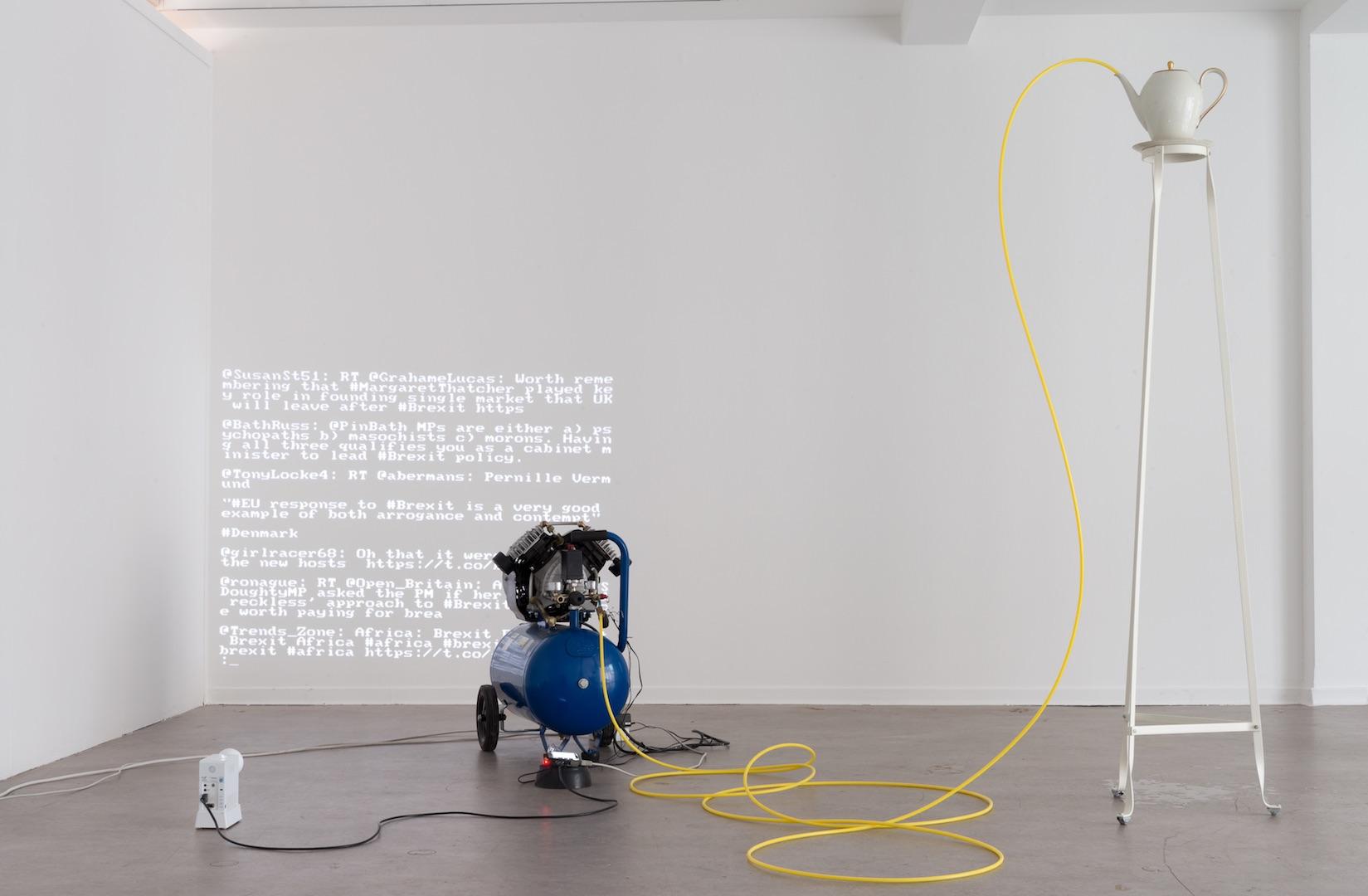 Gruppe Stumpf, Brexit, 2016, Installationsansicht