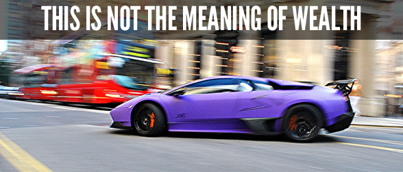 meaning of wealth lamborghini